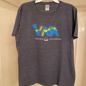 Women's Sweden tee shirt